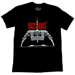U2 360° Tour 2011 Stage Itinerary Tee - M